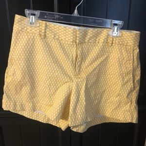 Yellow Banana Republic Shorts